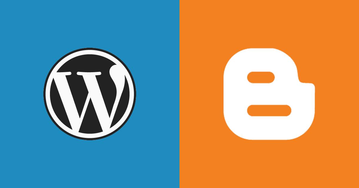 wordpres ou blogger